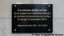 Paris Gedenken an IS Attentate am 13.11.2015