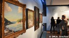 Deutschland Lübeck - Churchill Ausstellung im Günter-Grass-Haus