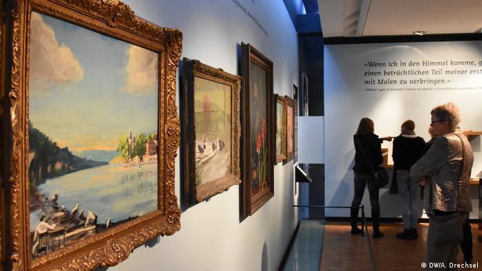 Deutschland Lübeck - Churchill Ausstellung im Günter-Grass-Haus (DW/A. Drechsel)