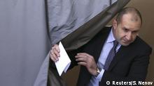 Bulgarien Präsidentschaftswahl 2. Runde Rumen Radew