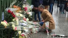 Frankreich Paris - Gedenkfeier zum Attentat im Bataclan