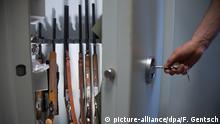 Waffenschrank mit Langwaffen