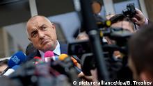 Bulgarien Präsidentschaftswahl 2. Runde Premierminister Boiko Borissow
