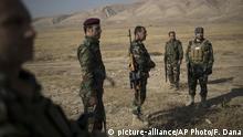 Irak Mossul - Kurdische Peschmerga Mossul Kurden Peschmerga