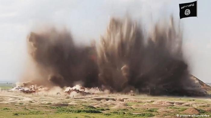 Irak Nimrud Zerstörung durch IS