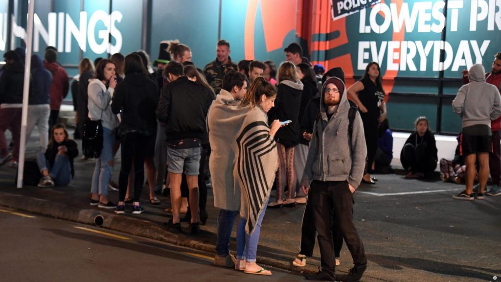Schweres Erdbeben Erschuttert Neuseeland Aktuell Welt Dw 13 11 2016