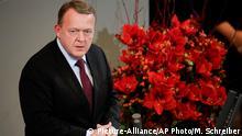 Feier im Bundestag Gedenkstunde zum Volkstrauertag Lars Lokke Rasmussen