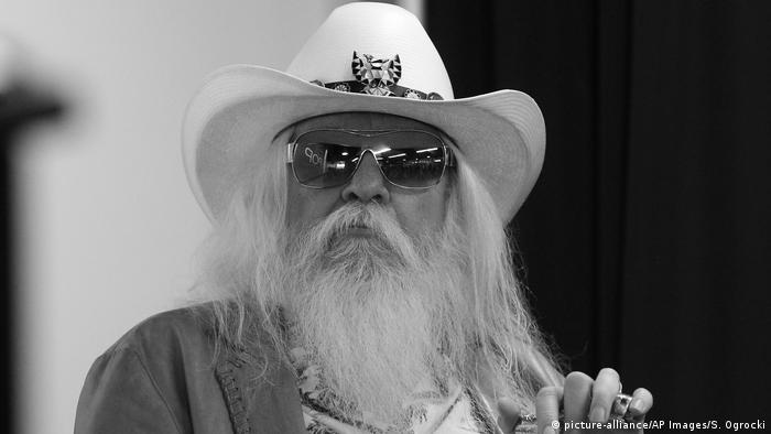 USA Musiker Leon Russell in Tulsa (picture-alliance/AP Images/S. Ogrocki)