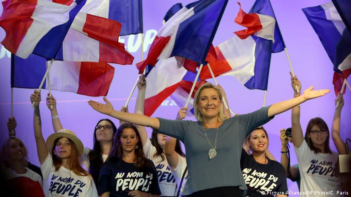 Marine Le Pen (Picture-Alliance/AP Photo/C. Paris)