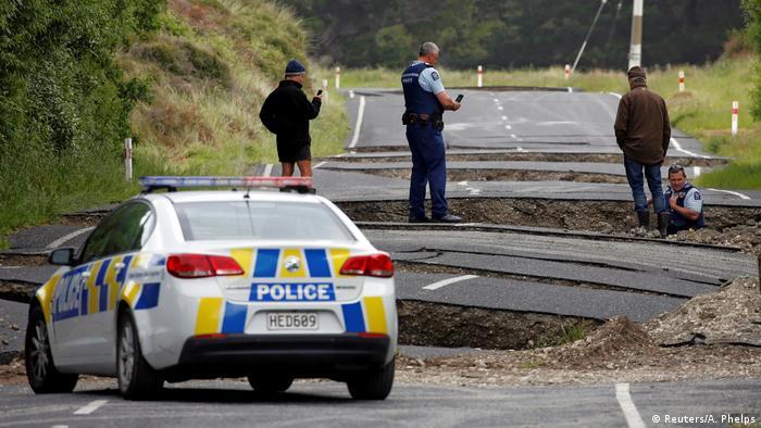Neuseeland Erdbeben (Reuters/A. Phelps)