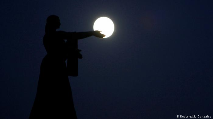 Mexiko Supermond (Reuters/J.L. Gonzalez)