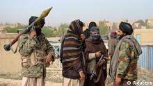 Afghanistan Taliban Kämpfer in der Ghazni Provinz