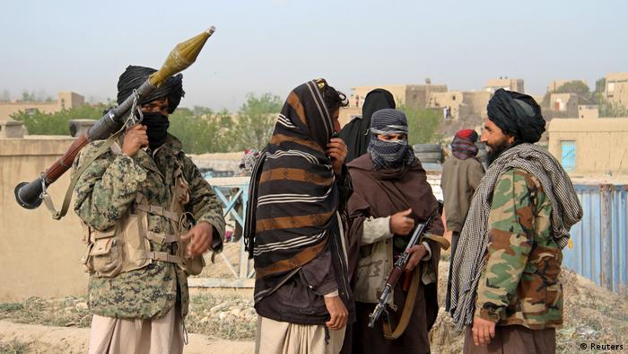 Afghanistan Taliban Kämpfer in der Ghazni Provinz (Reuters)