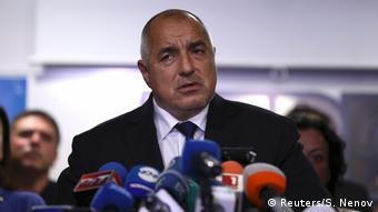 Bulgarien Premierminister Bojko Borissow kündigt Rücktritt an