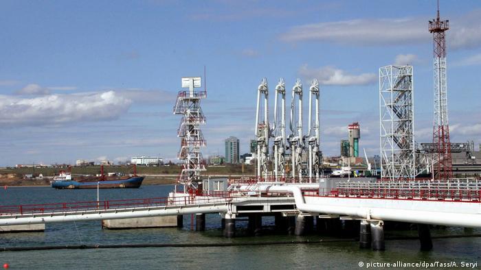 Украина, участок нефтепровода Одесса-Броды