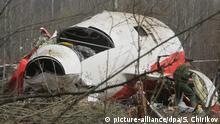 Russland Flugzeugabsturz von Smolensk - Lech Kaczynski getötet
