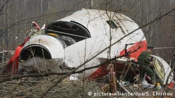 Το «κουφάρι» του μοιραίου αεροσκάφους δεν επεστράφη στην Πολωνία