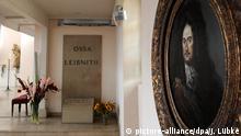 Deutschland Grab von Leibniz in Hannover