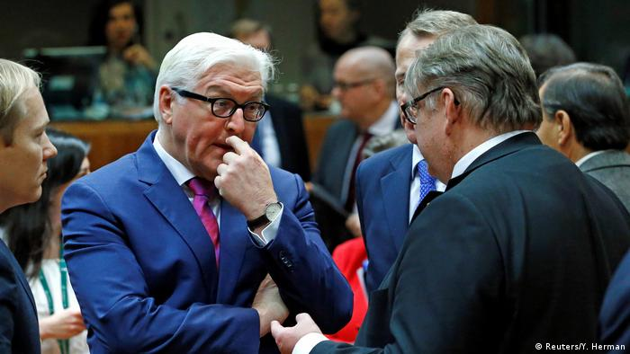 Belgien EU-Außenministertreffen in Brüssel (Reuters/Y. Herman)