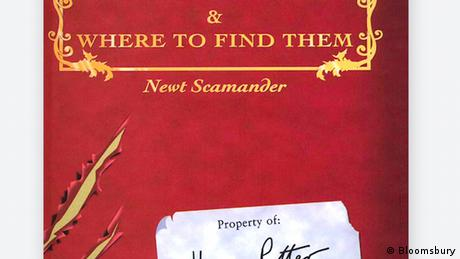 Book cover Fantastic Beasts and Where to Find Them (Bloomsbury)