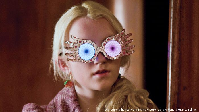 Luna Lovegood in the Harry Potter films (picture-alliance/Mary Evans Picture Library/Ronald Grant Archive )