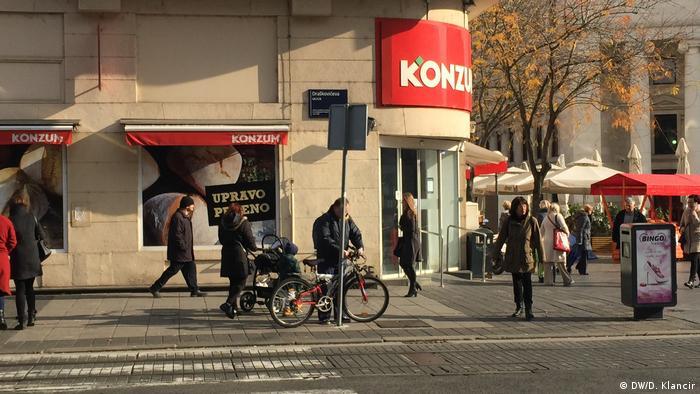Konzumova trgovina u Zagrebu