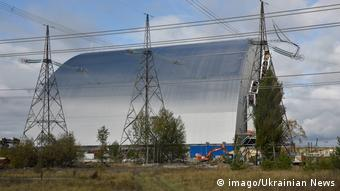 New Confinement To Cover Chernobyl NPP
