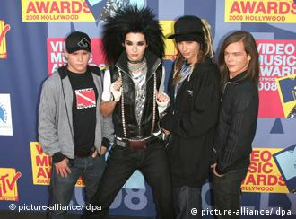 Tokio Hotel at the MTV Video Music Awards