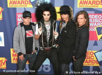 Gustav, Bill, Tom e Georg (da esq.)
