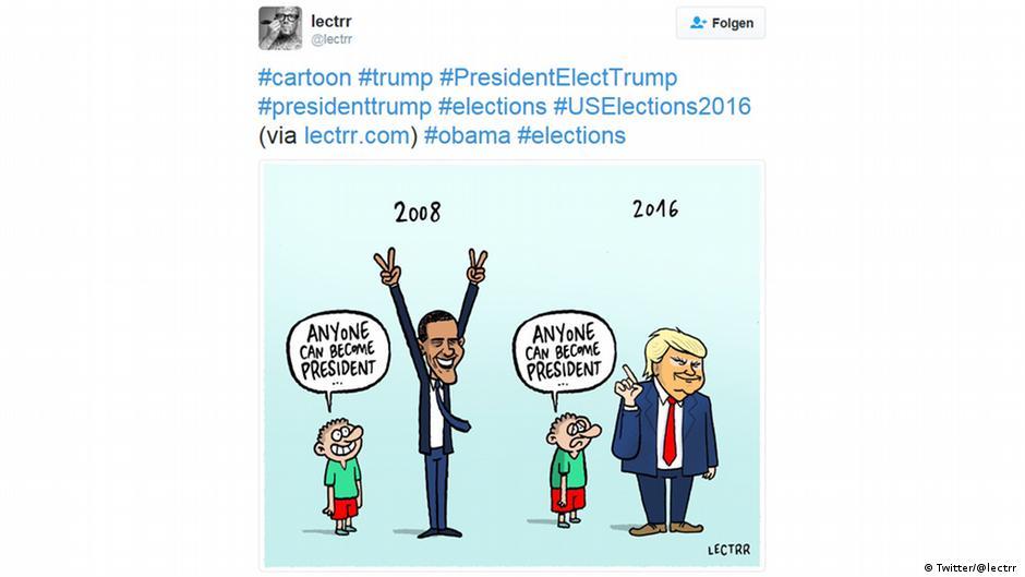 Donald Trump Garant Fur Witze Und Memes Kunst Dw 20 01 2017