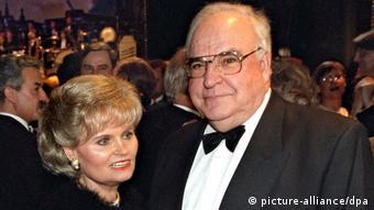 Deutschland Bundespresseball 1997 - Bundeskanzler Helmut Kohl & Hannelore Kohl