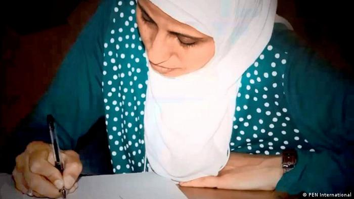 Palestinian poet Dareen Tatour (PEN International)