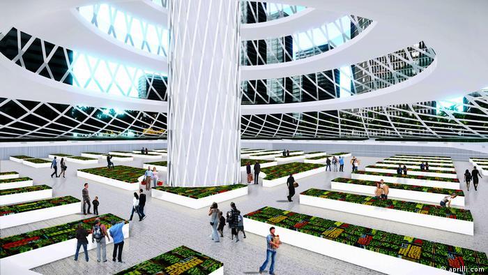 Urban Skyfarm - Konzeptuelles Prototyp für Seoul (aprilli.com)