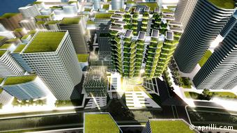 Urban Skyfarm - Konzeptuelles Prototyp für Seoul