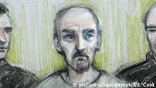 UK | Prozess in London - Jo Cox' mutmaßlicher Mörder Thomas Mair vor Gericht