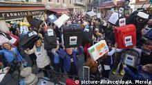 Italien Protestaktion Venexodus in Venedig