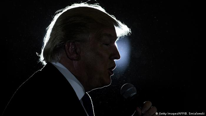 USA Ohio West Chester - Donald Trump Profil (Getty Images/AFP/B. Smialowski)