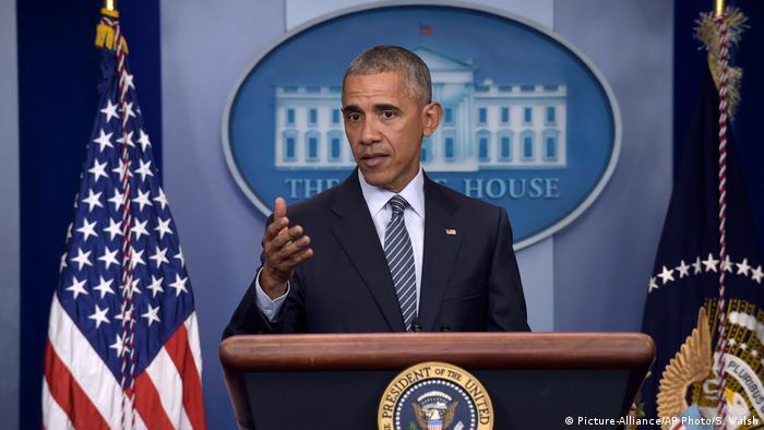 US Präsident Barack Obama PK