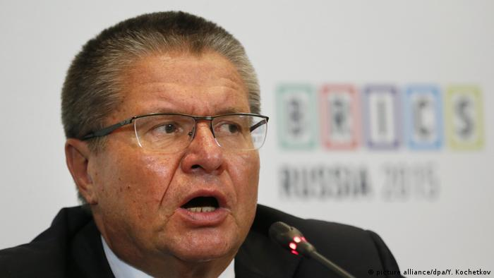 Russlands Wirtschaftsminister Alexej Uljukajew (picture alliance/dpa/Y. Kochetkov)