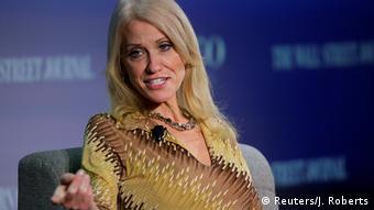 USA Kellyanne Conway Trump Wahlkampfmanagerin Debatte in Washington