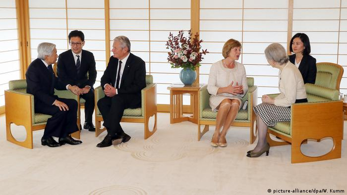 Japan Joachim Gauck in Tokio (picture-alliance/dpa/W. Kumm)
