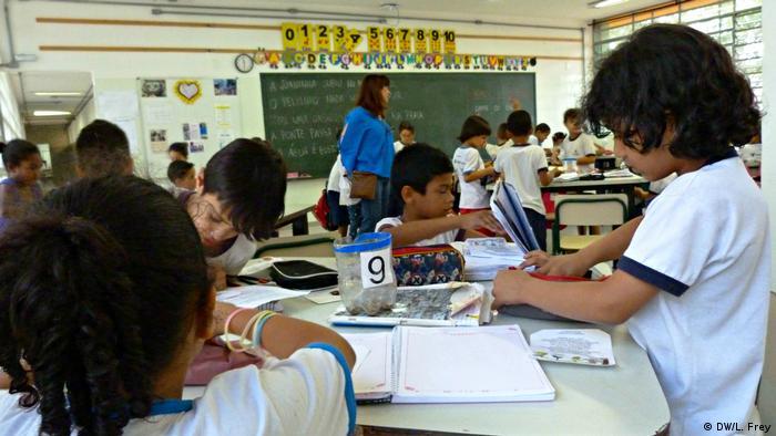 Brasilien Schule Presidente Campos Salles
