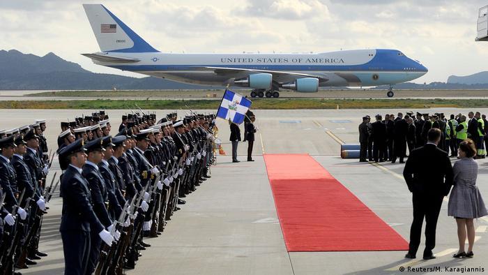 Griechenland Besuch US-Präsident Barack Obama in Athen (Reuters/M. Karagiannis)