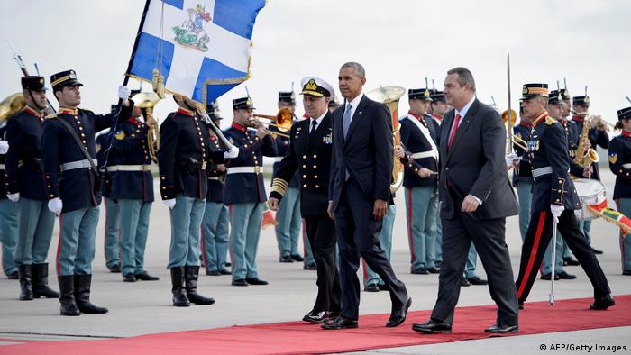 Griechenland Besuch US-Präsident Barack Obama in Athen (AFP/Getty Images)