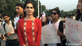 Pakistan Transgender Protest in Islamabad (Urooj Raza)