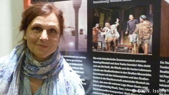 Edith Koerber, diretora do Teatro Tri-bühne