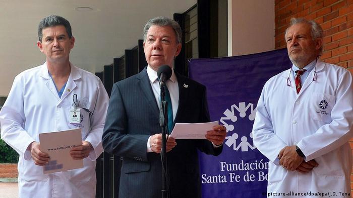 Juan Manuel Santos (picture-alliance/dpa/epa/J.D. Tena)