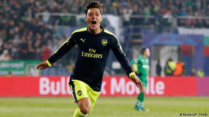 UEFA Champions League PFC Ludogorets Razgrad vs. Arsenal - Mesut Özil (Reuters/P. Childs)