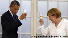 Deutschland Barack Obama und Angela merkel in Berlin