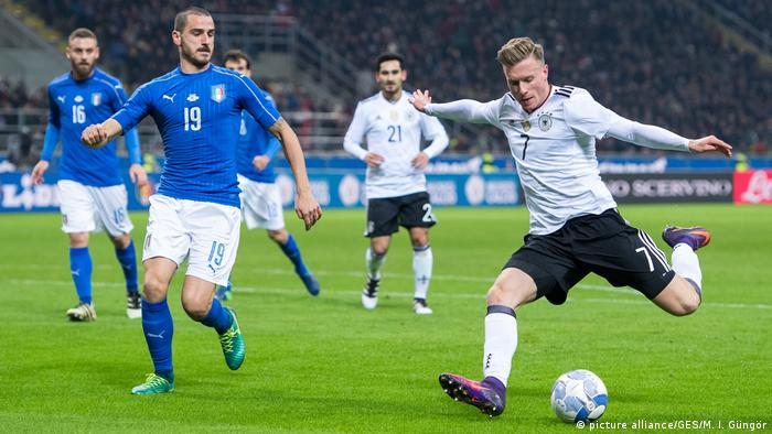 Fußball Länderspiel Italien vs. Deutschland (picture alliance/GES/M. I. Güngör)